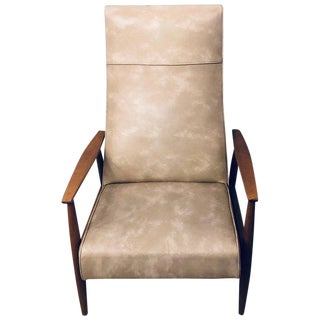 Milo Baughman Reclining Lounge Chair Thayer Coggin For Sale