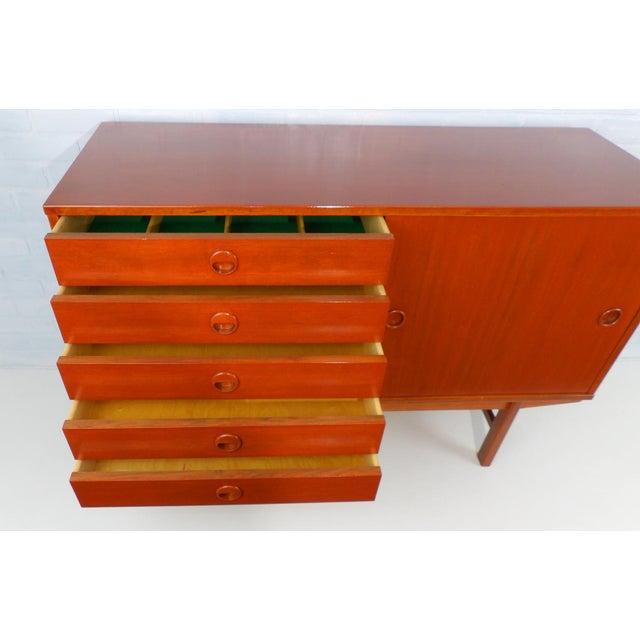 Folke Ohlsson for Dux Sweden Mid Century Modern Sideboard For Sale - Image 12 of 13