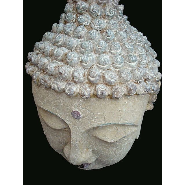 Extra Large Buddha Head For Sale - Image 5 of 6