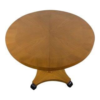 Adjustable Art Deco Pedestal Table For Sale