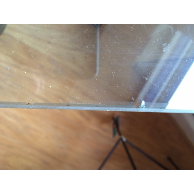 Regency Glass Top Side Accent Tables - A Pair For Sale - Image 7 of 7