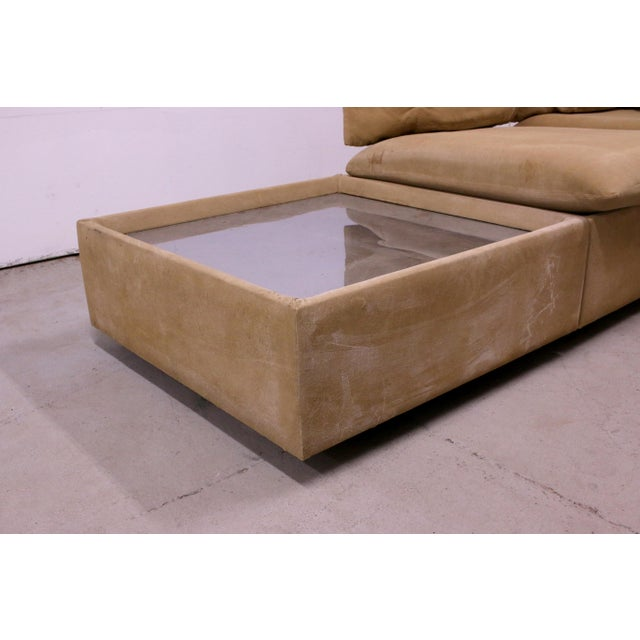 Metal 1970s Adrian Pearsall Modular Sectional Sofa for Craft Associates For Sale - Image 7 of 13