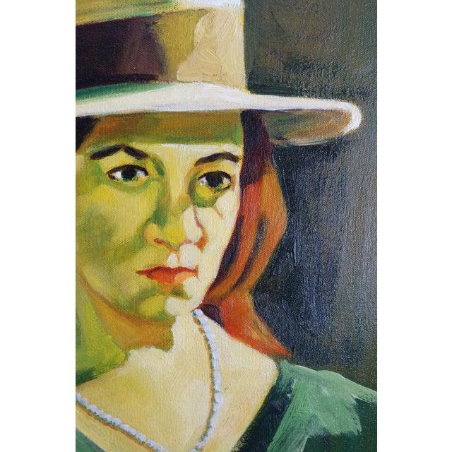 Carlos Jordan Vintage Portrait of a Woman - Image 4 of 5