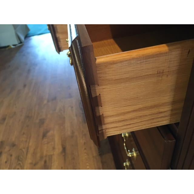 Solid Cherry Buffet Cabinet by Colonial Furniture - Image 4 of 11