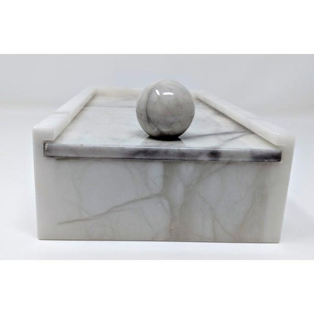 Hermès Hermes Inspired Alabaster Box For Sale - Image 4 of 12