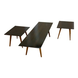 Vintage Mid-Century Paul McCobb Planner Group End Tables and Coffee Table - Set of 3 For Sale