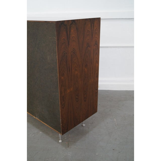 George Nelson for Herman Miller Thin Edge Rosewood Chest For Sale - Image 9 of 10
