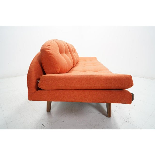 Attributed Adrian Pearsall Gondola Sofa For Sale In Los Angeles - Image 6 of 8