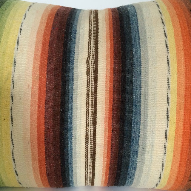 Sun Washed Sand Colored Vintage Pillow - Image 4 of 6