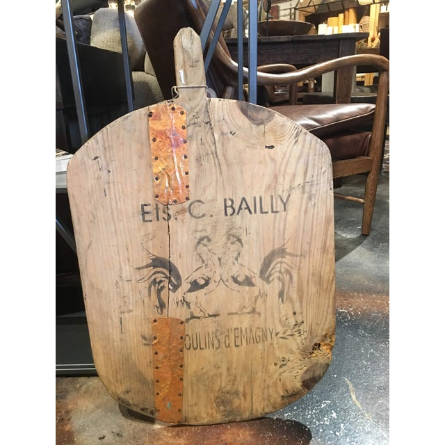 Country Early 20th Century Rustic Bread Board For Sale - Image 3 of 12