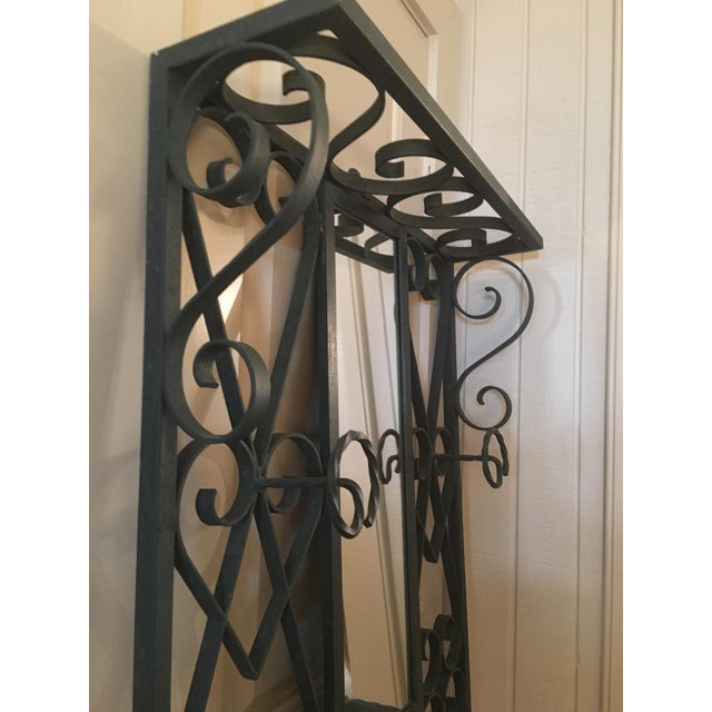 Vintage French Iron Coat and Umbrella Stand - Image 3 of 5