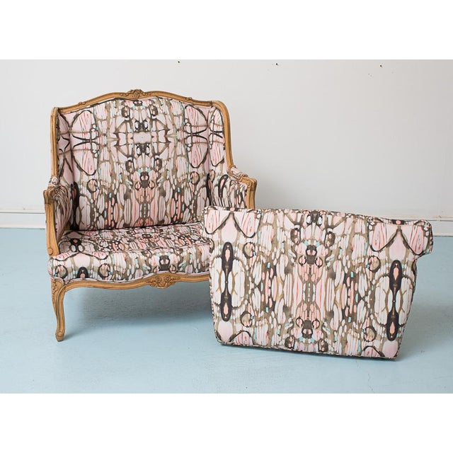 French Provincial Style Arabella Chairs - Pair - Image 4 of 7