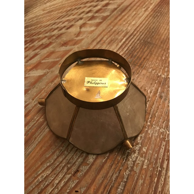 Vintage Lotus Brass Candle Holders - A Pair - Image 6 of 9