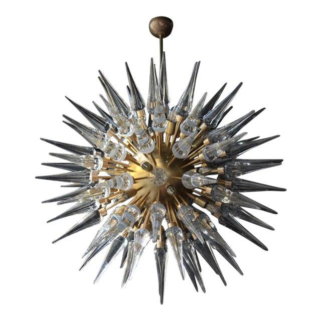 Exceptional Huge Atomic or Sputnik Chandelier For Sale