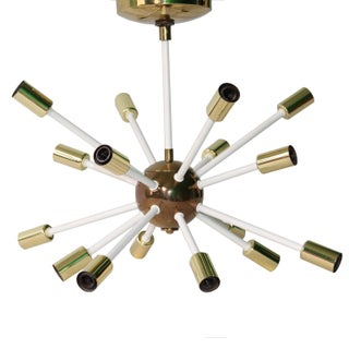 Mid-Century Sixteen-Light 'Atomic' Sputnik Chandelier For Sale