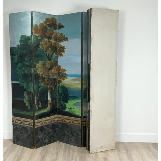 Wallpaper Screen, France 19th Century For Sale In San Francisco - Image 6 of 7