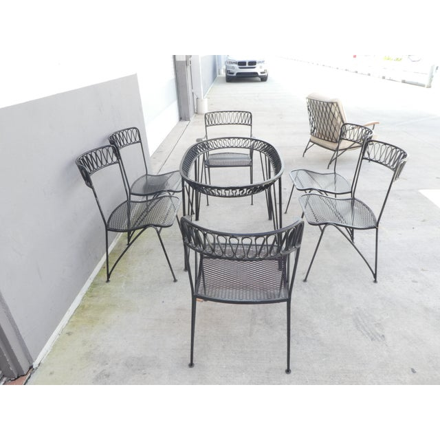 1950s 1950s Vintage Maurizio Tempestini for Salterini Dining Set - 7 Pieces For Sale - Image 5 of 10