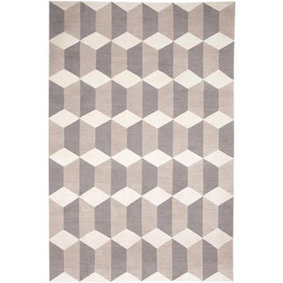 Contemporary The Rug Company Chiessa Neutral Rug - 8′2″ × 10′ For Sale