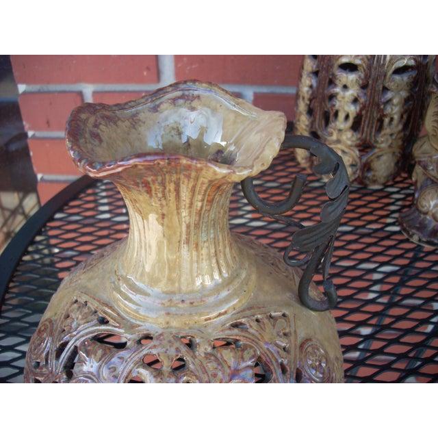 Boho Style Candle Lanterns - Set of 3 - Image 4 of 5
