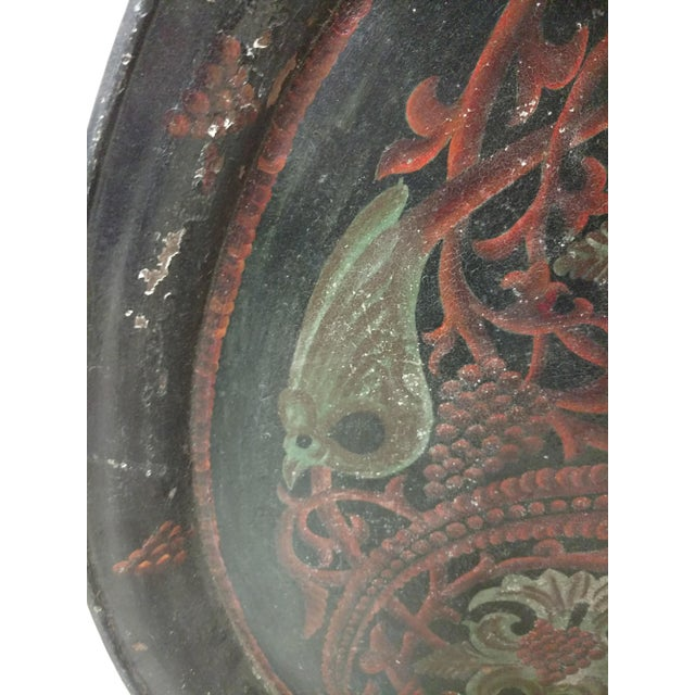 1920s Antique Anglo Indian Huge Festival Wedding Tray For Sale - Image 5 of 9
