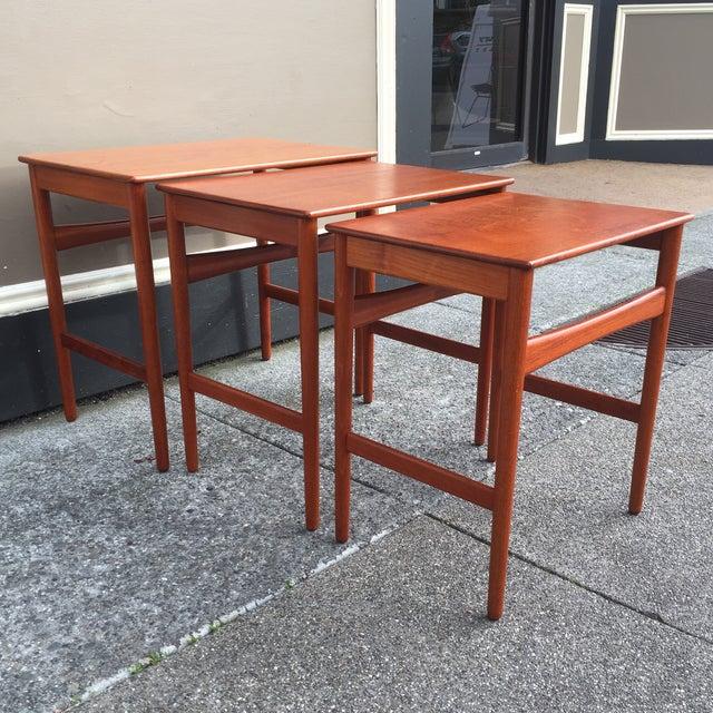 Hans Wegner Nesting Tables - Set of 3 - Image 9 of 11