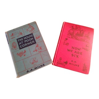 Vintage Winnie the Pooh Books - Set of 2 For Sale
