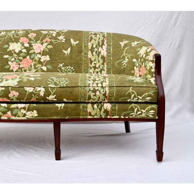 Hickory Chair Federal Hepplewhite Style Sofa For Sale In Philadelphia - Image 6 of 13