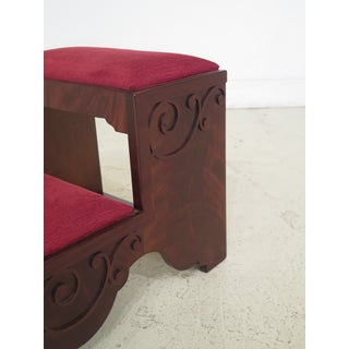 Chippendale Hickory Chair Co Mahogany Bedsteps Preview