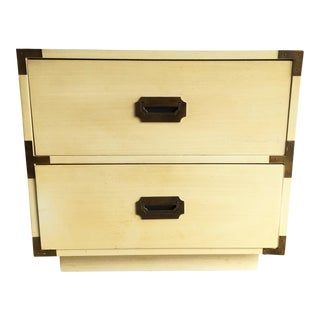 Dixie Campaign 2 Drawer Nightstand