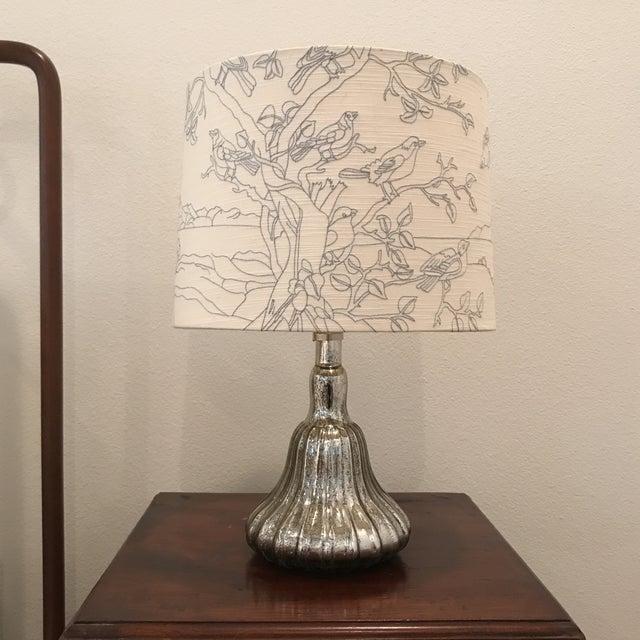 Anthropologie Lamps: Anthropologie Mercury Glass Lamp