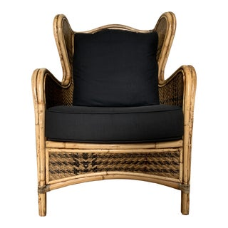 Henry Link Wingback Chair For Sale