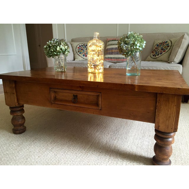 Vintage Bun-Foot Coffee Table For Sale - Image 11 of 11