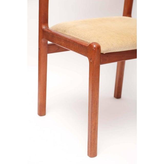 J.L. Møllers Møbelfabrik Set of Six J.L. Moller Teak Dining Chairs, 1960s, Denmark For Sale - Image 4 of 7