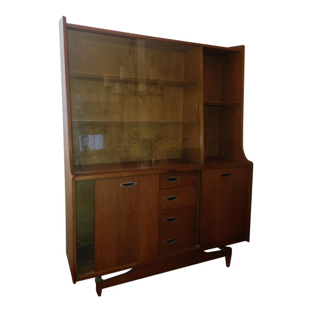 Mid Century Modern China Cabinet - Image 1 of 4
