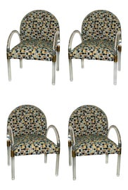 Image of Lucite Accent Chairs