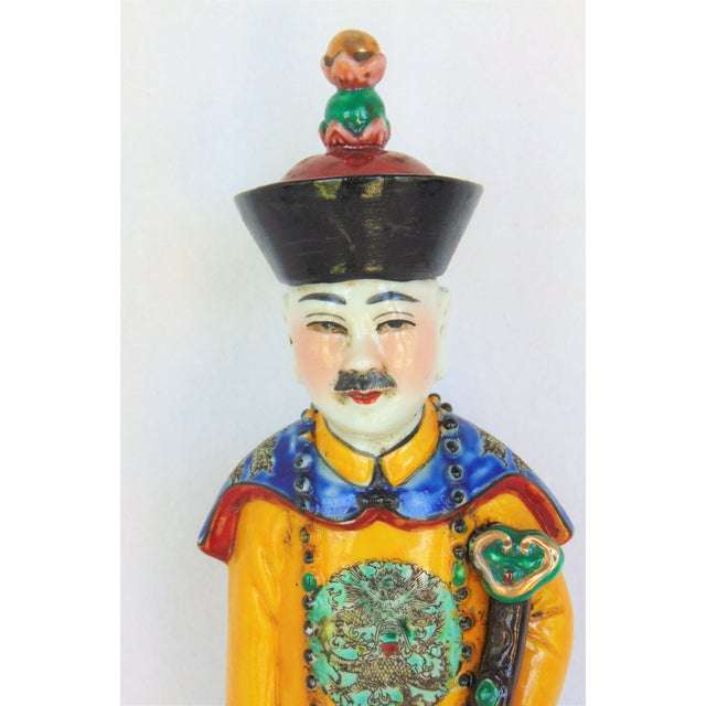 Chinese Wise Man Figurine - Image 3 of 8