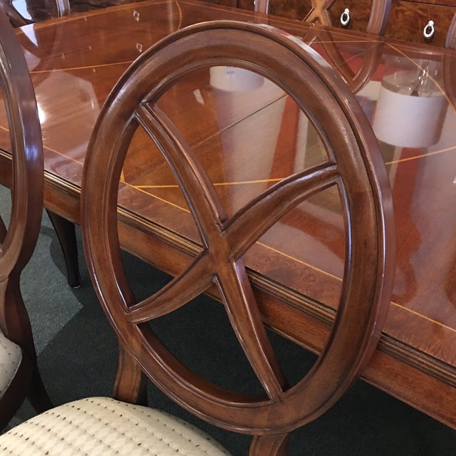 Thomasville Bogart Collection Dining Set - Set of 7 For Sale In San Francisco - Image 6 of 11