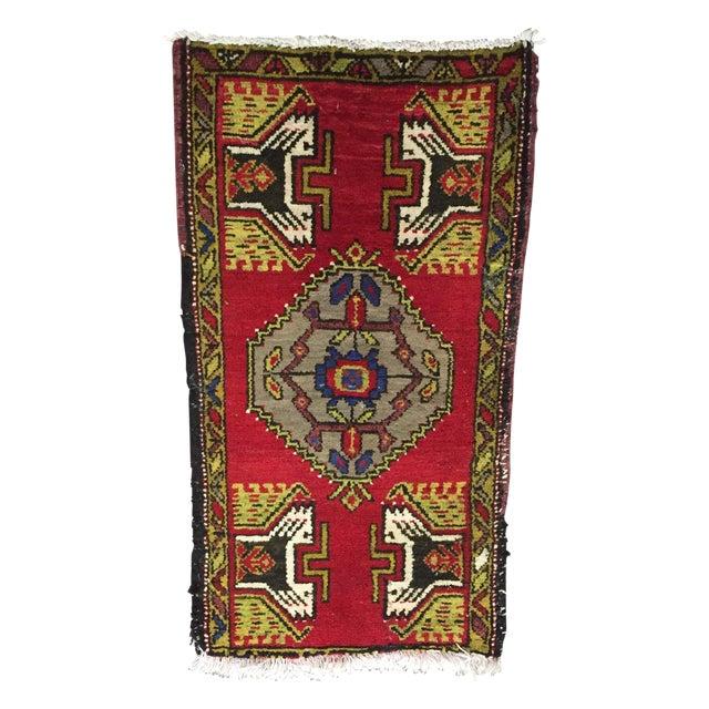 Anatolian Persian Rug - 1′7″ × 3′1″ - Image 1 of 7