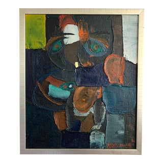 Abstract Figurative Impasto Painting For Sale