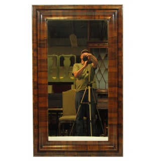 19th Century American Classical Rosewood Wall Mirror
