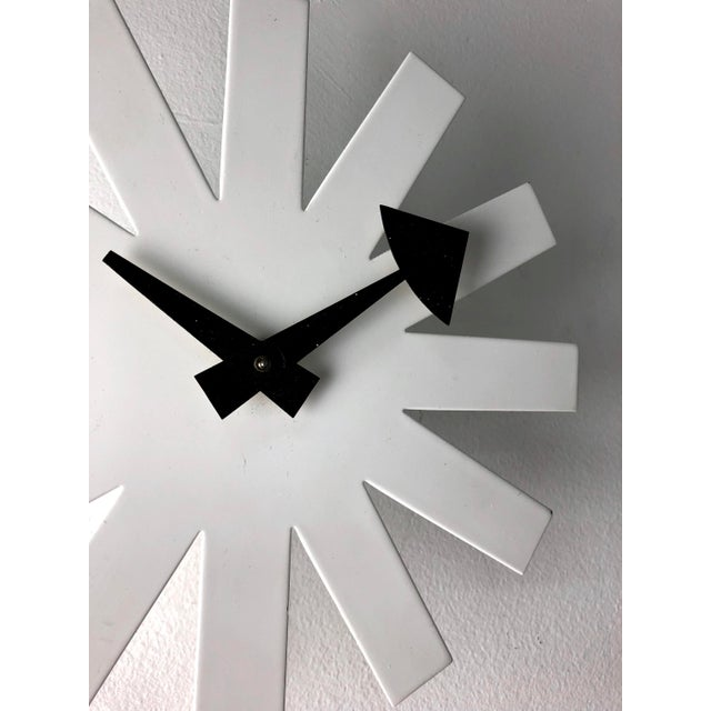 "Iconic authentic ""Asterisk"" wall clock designed by Irving Harper of George Nelson & Assoc. for Howard Miller circa 1950's..."