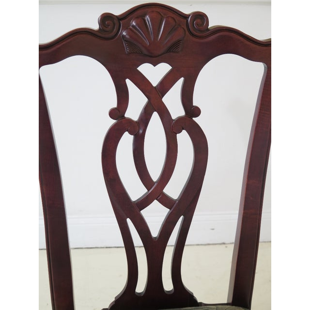 Modern Century Ball & Claw Dining Room Chairs- Set of 10 For Sale In Philadelphia - Image 6 of 13