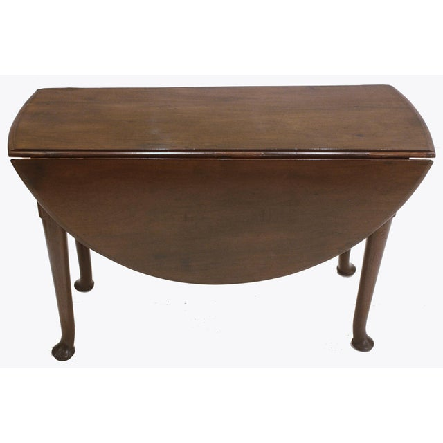 Drop Leaf Dining Table / ROUND / George III Period For Sale In Dallas - Image 6 of 6