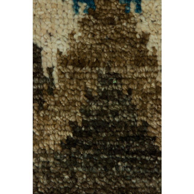 "New Ikat Hand Knotted Area Rug - 3'10"" x 6' - Image 3 of 3"