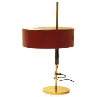 Table Lamp Model 243 by Ostuni & Forti for Oluce, Italy, 1950s For Sale