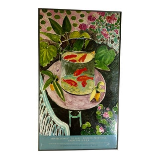 1986 Impressionist MOMA Poster, by Matisse For Sale