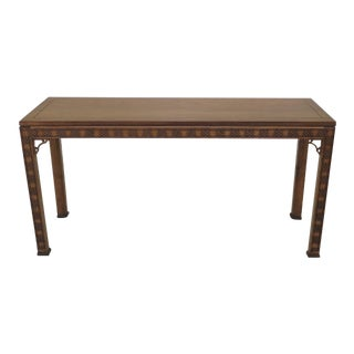 Kindel Chippendale Style Cherry Sofa Table For Sale