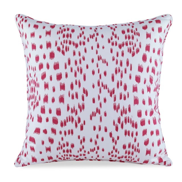 Contemporary Curated Kravet Les Touches Pillow - Pink For Sale - Image 3 of 3
