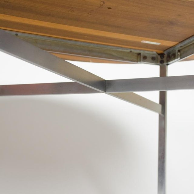 Florence Knoll 1970s Mid-Century Modern Florence Knoll Dining Table For Sale - Image 4 of 11
