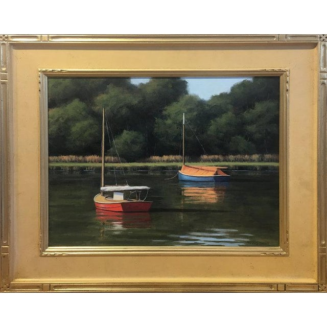 Impressionist Ronald Tinney, Summer Colors Painting, 2018 For Sale - Image 3 of 7